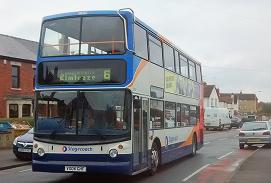 number 6 bus in ElmbridgeRoad